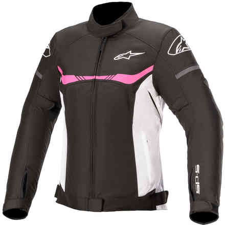 Giacca Stella T-Sp S Waterproof Nero White Fuschia Alpinestars