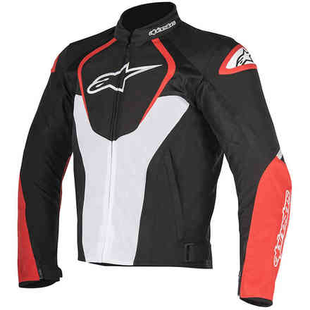 Giacca T-Jaws V2 Air nero bianco rosso Alpinestars