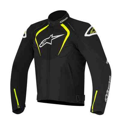 Giacca T-Jaws  Waterproof 2017 nero giallo Alpinestars
