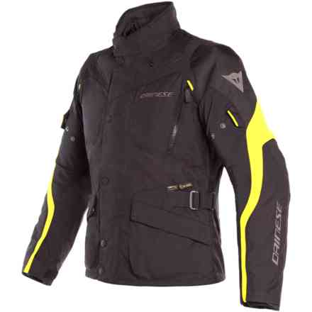Giacca Tempest 2 D-Dry nero giallo fluo Dainese