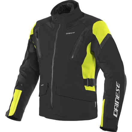 Giacca Tonale D-Dry nero giallo fluo Dainese