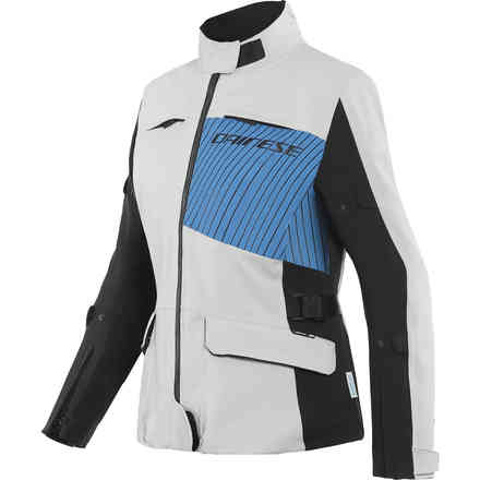 Giacca Tonale Lady D-Dry Grigio Ghiaccio Blu Performance Nero Dainese