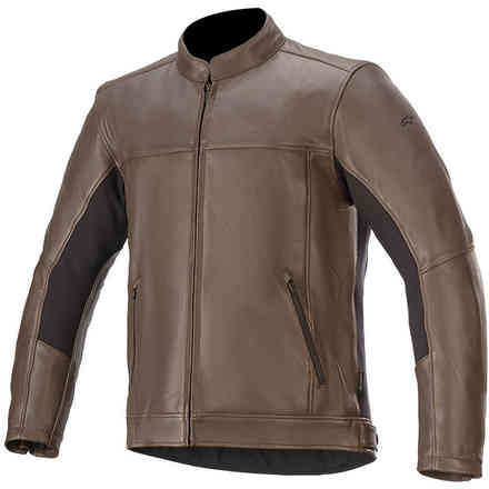 Giacca Topanga Leather Marrone Alpinestars