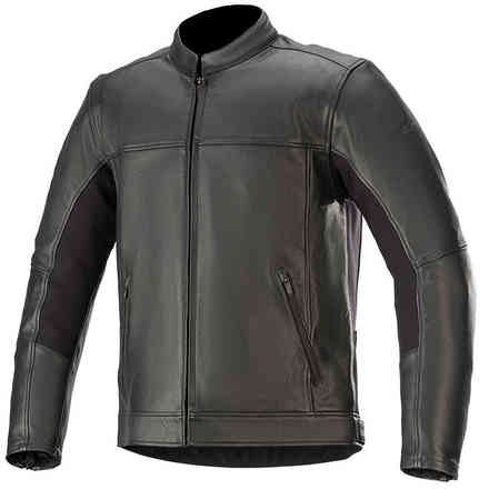 Giacca Topanga Leather Nero Alpinestars