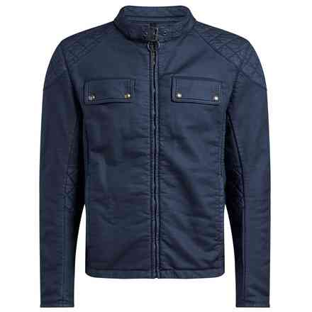 Giacca Xman Racing Denim Blu Belstaff