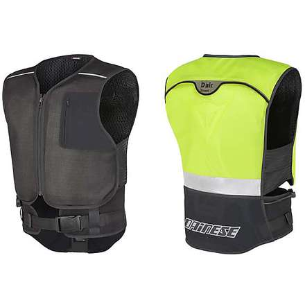 Gilet D-Air street yellow Dainese