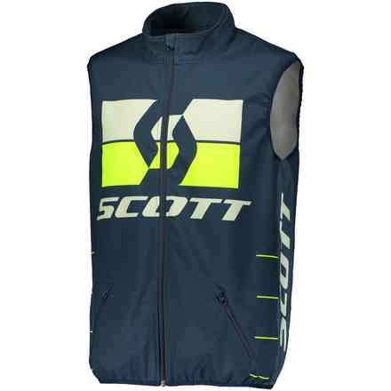 Gilet Enduro Blu Giallo Scott