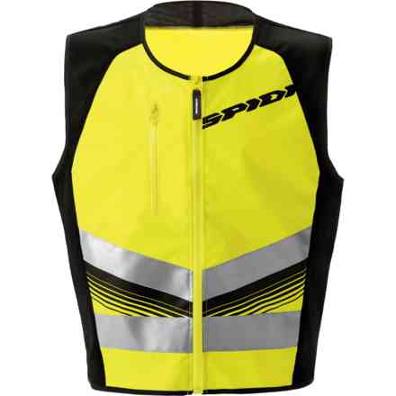 Gilet Hv Vest Light Giallo Fluo Spidi