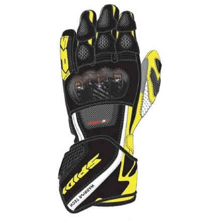 Gloves Carbo 5 Black Yellow Fluo Spidi