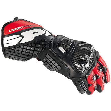 Gloves Carbo Track balck red Spidi
