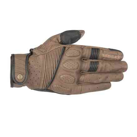 Gloves Crazy Eight Brown Black Alpinestars