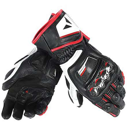 Gloves Druid D1 Long black-white-red Dainese