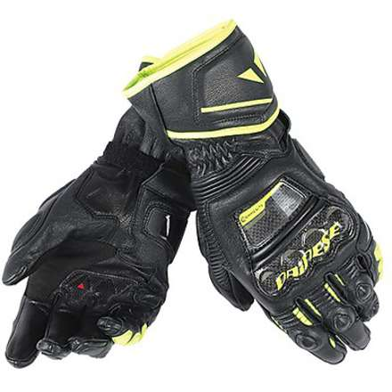 Gloves Druid D1 Long black-yellow Dainese