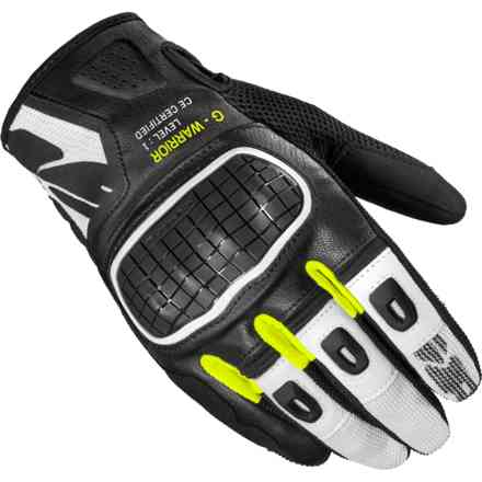 Gloves G-Warrior Black Yellow Fluo Spidi
