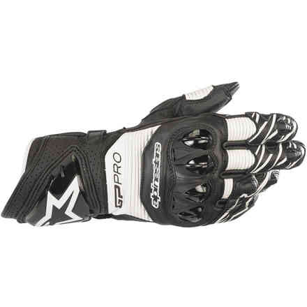 Gloves Gp Pro R3 Black White Alpinestars