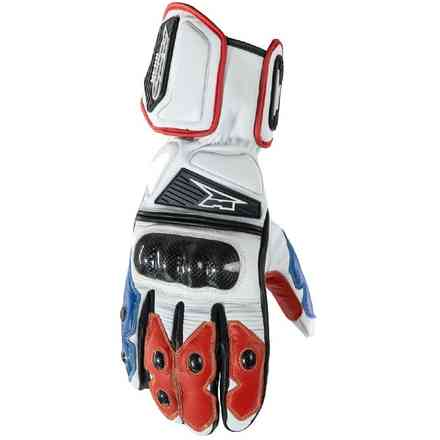 Gloves KK4R HT White/Red/Blu Axo