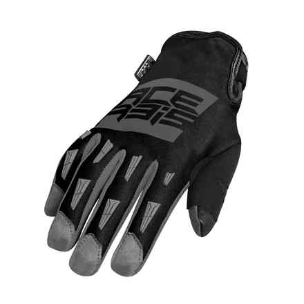 Gloves Mx Wp Gray Black Acerbis