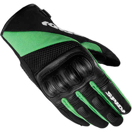 Gloves Ranger Black Green Kawasaki Spidi