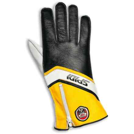 Gloves Replica 77 Black Yellow White Spidi