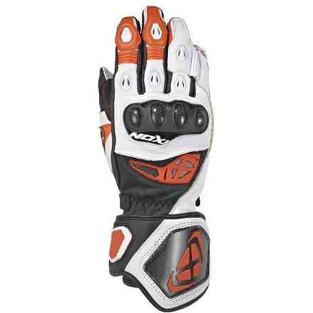 Gloves Rs Genius 2 Black White Orange Ixon