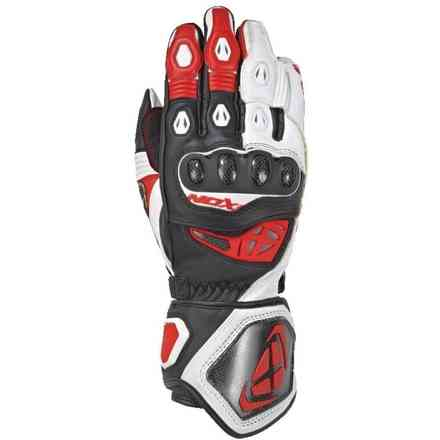 Gloves Rs Genius 2 Black White Red Ixon