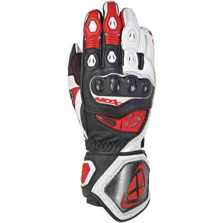 Gloves Rs Genius Rep Black White Red Ixon