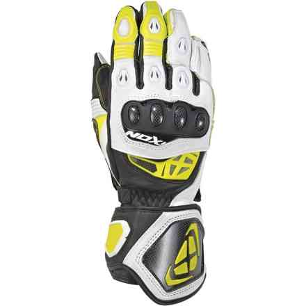 Gloves Rs Genius Replica Black White Yellow Ixon