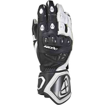 Gloves Rs Genius Replica Black White Ixon