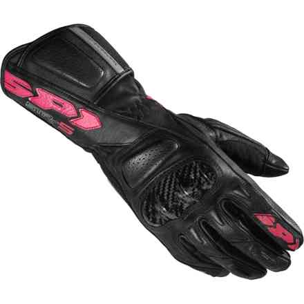 Gloves Str-5 Lady Black Fuchsia Spidi