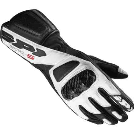 Gloves Str-5 Lady Black white Spidi