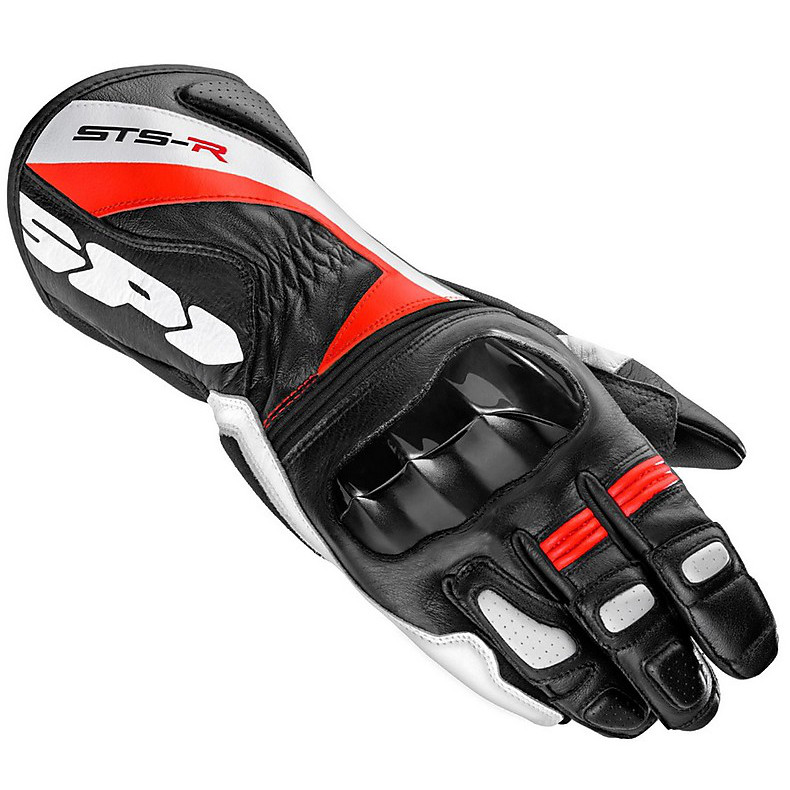 Gloves Sts-R  black-red Spidi