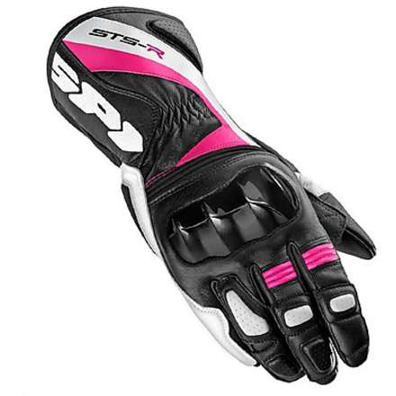 Gloves Sts-R Lady black-fuchsia Spidi