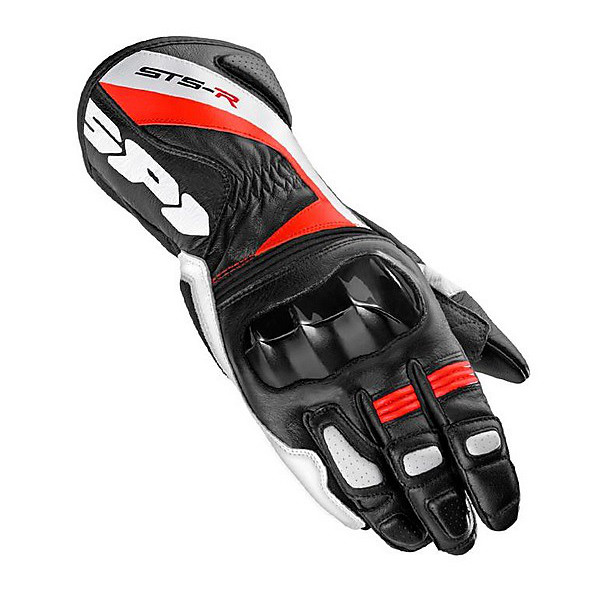 Gloves Sts-R Lady black-red Spidi