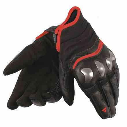 Gloves X-run black red fluo Dainese