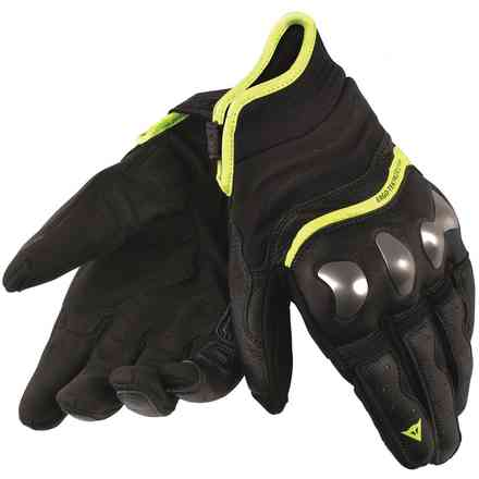 Gloves X-run black yellow fluo Dainese