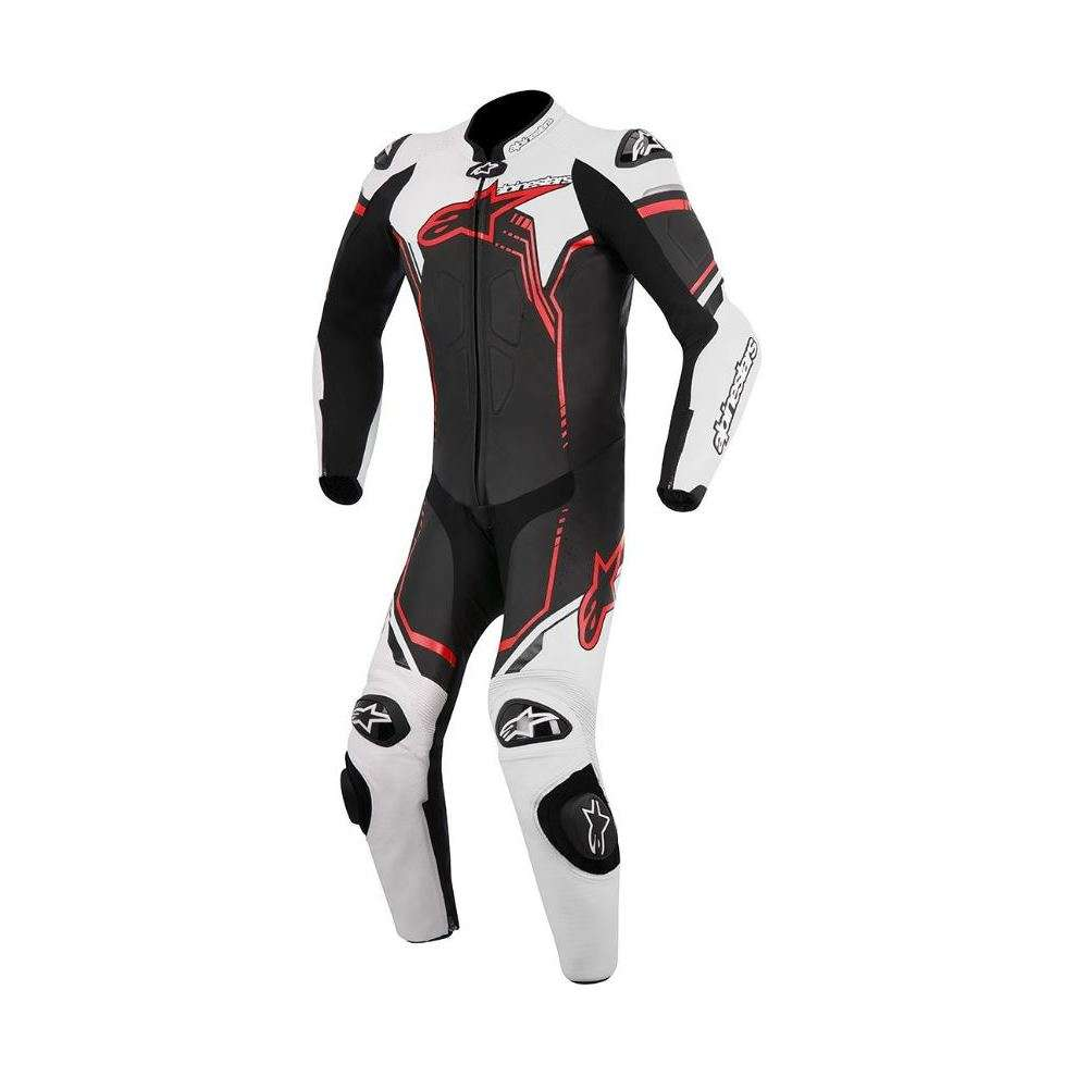 Gp Plus black white red Suit  Alpinestars