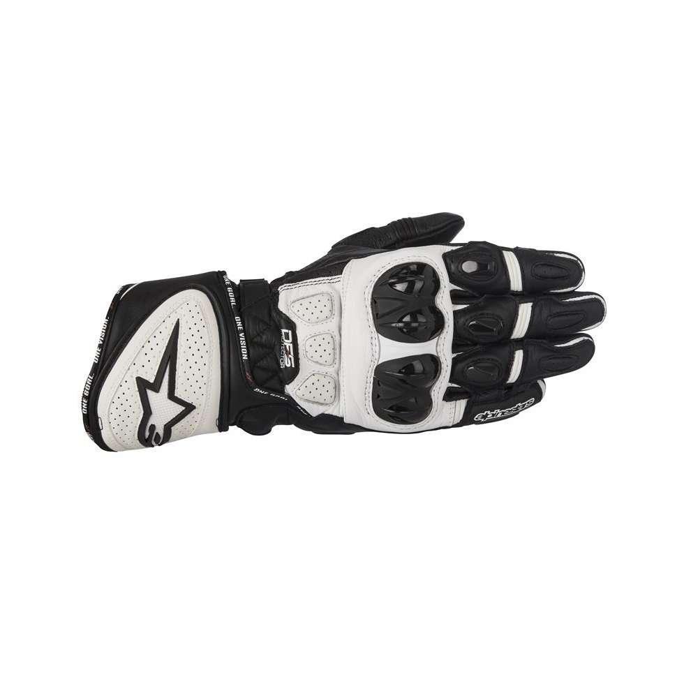 Gp Plus R  black white Gloves Alpinestars