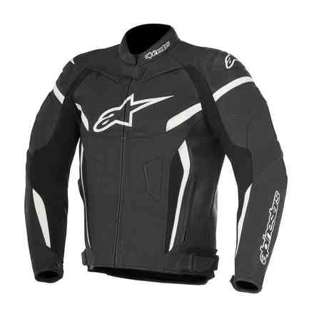 Gp Plus R V2 black white Leater Jacket Alpinestars