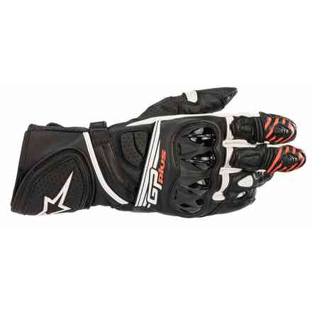 Gp Plus R V2 gloves black white Alpinestars