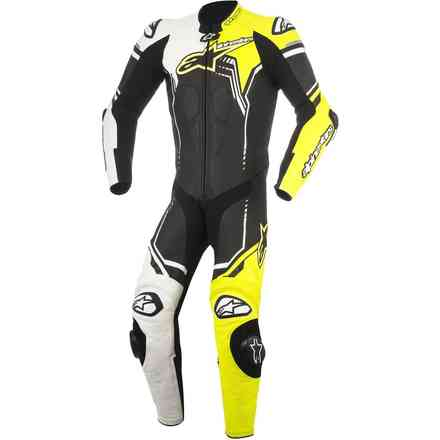 Gp Plus V2 white black yellow fluo Alpinestars