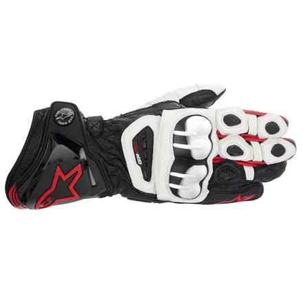Gp Pro  Gloves black-white-red Alpinestars
