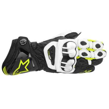 Gp Pro  Gloves black-white-yellow fluo Alpinestars