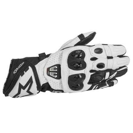 Gp Pro R2  black white Gloves Alpinestars