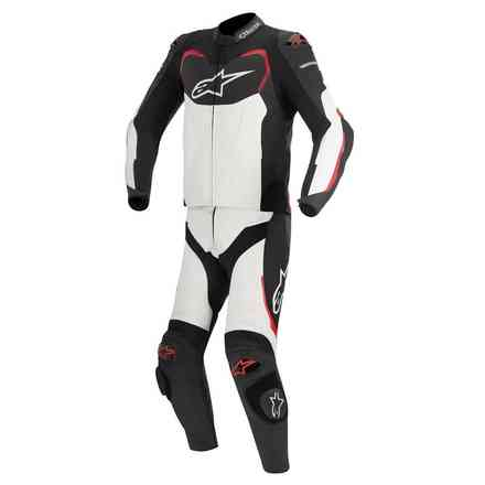GP Pro Suit 2 pieces black-white-red Alpinestars