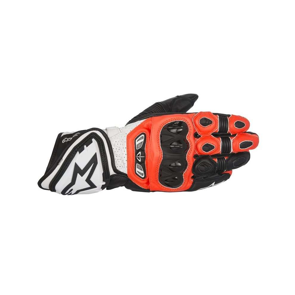 Gp Tech  black red white Gloves  Alpinestars