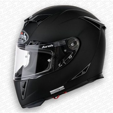 Gp500 Color Black Matt Helmet Airoh