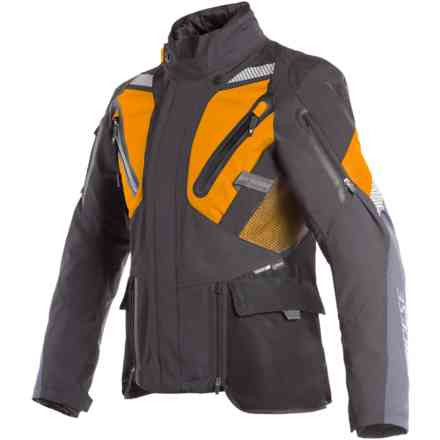 Gran Turismo Gtx jacket black Orange Ebony Dainese
