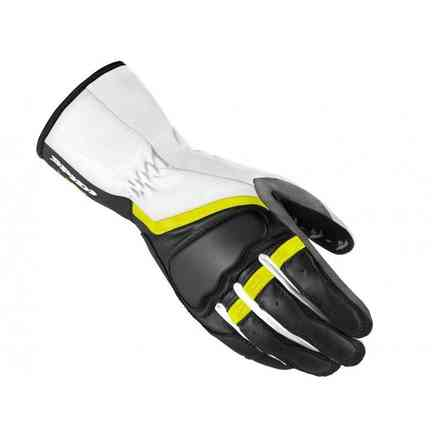 Grip 2 black yellow fluo Gloves lady Spidi