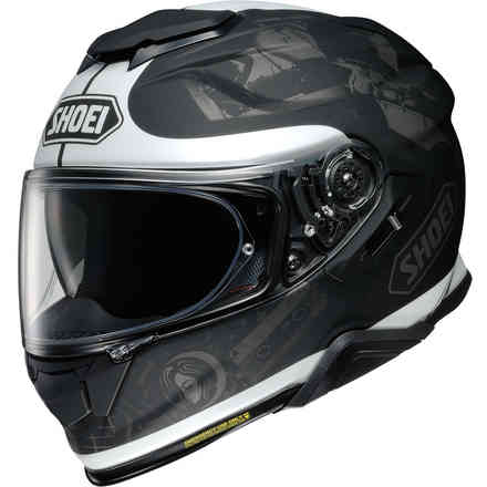 Gt-Air Ii Reminisce Tc-5 helmet black grey Shoei