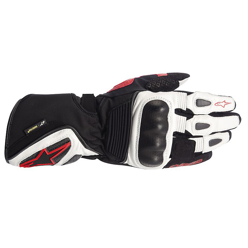 Gt-S X-Trafit Black / White / Red Gloves Alpinestars